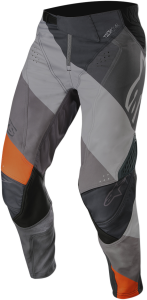 Pantaloni Alpinestar Techstar Venom Anthracite Gray Orange Fluo