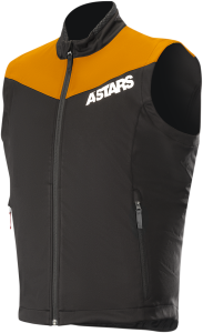 Vestă Alpinestar Session Race Orange Fluo Black
