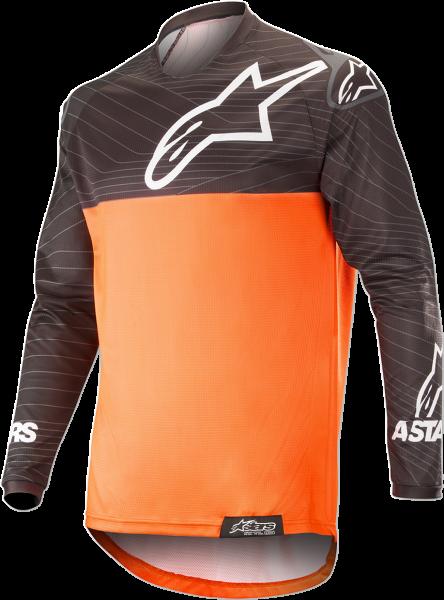 Tricou Alpinestar Venture R Orange Fluo Black