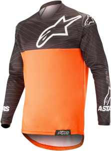 Tricou Alpinestar Venture R Orange Fluo Black