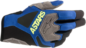 Mănuși Alpinestar Venture R Blue Yellow Fluo