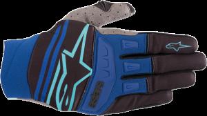 Mănuși Alpinestar Techstar Black Turquoise Blue
