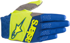Mănuși Alpinestar Racefend Yellow Fluo Black