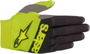Mănuși Alpinestar Racefend Yellow Fluo Blue