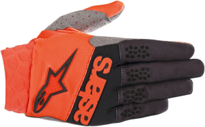 Mănuși Alpinestar Racefend Orange Fluo Black