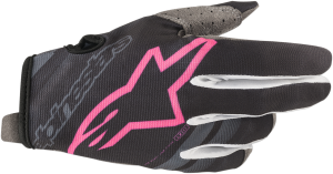 Mănuși Alpinestar Radar Dark Navy Pink Fluo