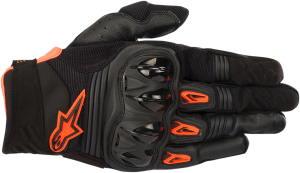 Mănuși Alpinestar Megawatt Black Anthracite Orange Fluo