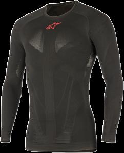 Tricou Alpinestar Tech Top Long Sleeve Summer Black Red