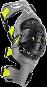 Orteze Alpinestar Bionic-7 Silver Yellow Fluo