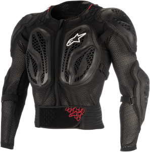 Armură Copii Alpinestar Action Bionic Black Red