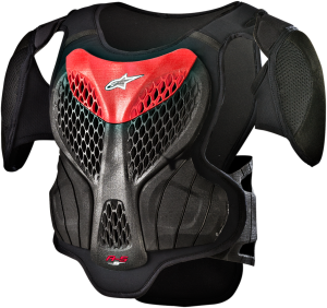 Armură Copii Alpinestar A-5 Black Red