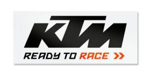 Sticker masina KTM Black White