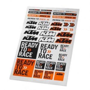 Foaia de stickere KTM CORPORATE