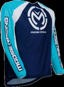 TRICOU MOOSE M1 Blue/Cyan