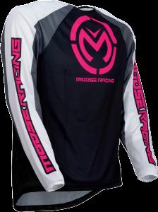 Tricou Moose Racing  M1 Black/Pink