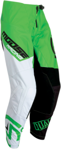 PANTALONI MOOSE QUALIFR Green/White