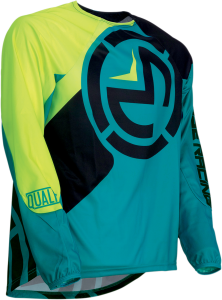 Tricou Moose Racing  Qualifr Teal/Fluorescent Yellow