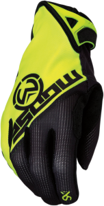 MANUSI MOOSE MX1 SX1 Black/Fluorescent Yellow