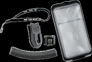 Husa telefon impermeabil cu suport RAM Aqua-Box 11.5cm x 64mm x 13mm