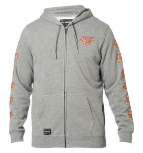 Hanorac FOX Flame Head zip