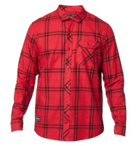 Camasa FOX Voyd 2.0 Flannel Red