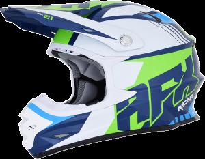 Casca AFX FX-21 Blue/Green/White