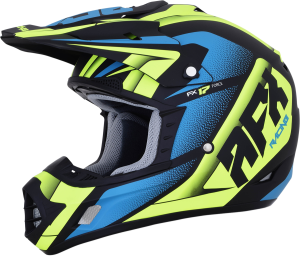 Casca AFX FX-17 Matte Black/Green/Blue Force