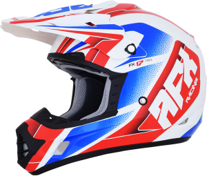 Casca AFX FX-17 Red/White/Blue Force
