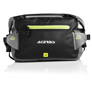 BORSETA ACERBIS NO WATER 6 L BLACK/GREY