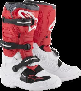Cizme Copii Alpinestar Tech 7S White Red Gray