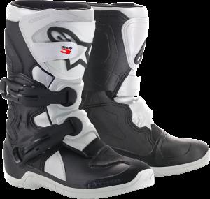 Cizme Copii Alpinestar Tech 3S Black White