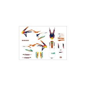 Kit stickere KTM Factory SX 16-17