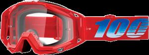 Ochelari 100% Racecraft KURIAKIN  Red/Blue/White Lentila Clara