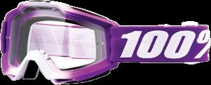 Ochelari 100% Accuri FRAMBOISE Magenta/White Lentila Clara