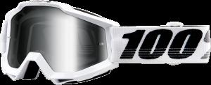 Ochelari 100% Accuri GALACTICA White/Black/Grey Lentila Mirror