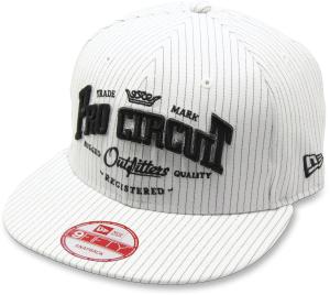 Sapca Pro Circuit Ouutfitters New Era White