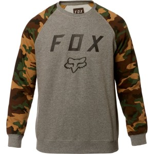 Bluza FOX LEGACY CREW Grey/Camo