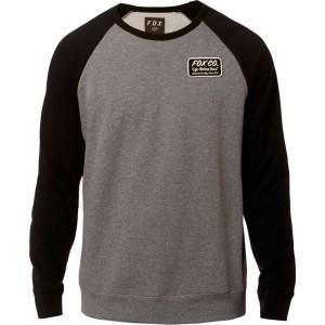Bluza FOX RESIN CREW Black/Gray