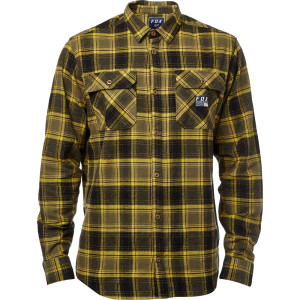 Camasa FOX TRAILDUST FLANNEL Black/Yellow