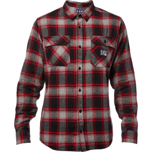 Camasa FOX TRAILDUST FLANNEL Black/Red