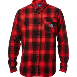 Camasa FOX VOYD FLANNEL Red