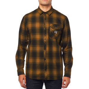 Camasa FOX VOYD FLANNEL Black/Orange