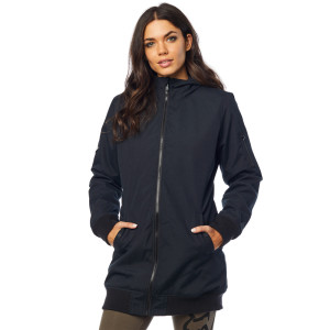 Geaca FOX DAZED LONG BOMBER Black