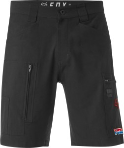Pantaloni scurti FOX HRC REDPLATE TECH CARGO SHORT Black
