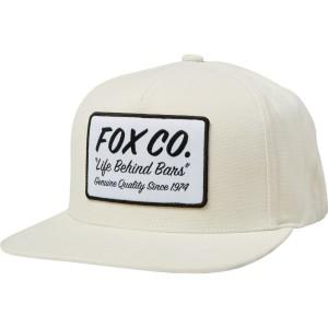 Sapca FOX RESIN SNAPBACK HAT Cream