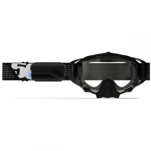 Ochelari Snowmobil Lentila Incalzita Sinister X5 Ignite Nighvision Black/White