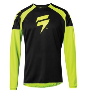 Tricou SHIFT Whit3 Label Fluo Yellow