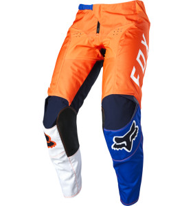 Pantaloni FOX LOVL Orange/Blue
