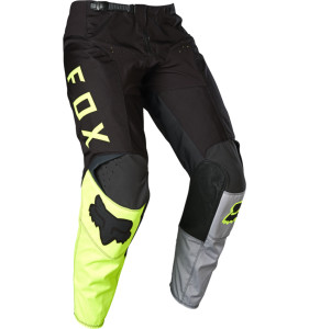 Pantaloni FOX LOVL Black/Yellow