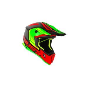 Casca JUST1 J38 Blade Red/Lime/Black Matt